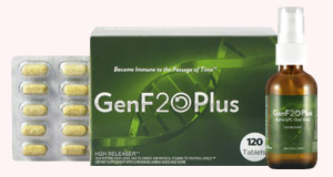 The Complete GenF20Plus system with Daily supplement and Oral Spray